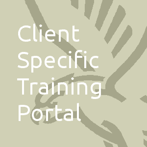 Client Specific Training Portal