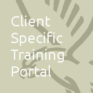 Client Specific Training Portal